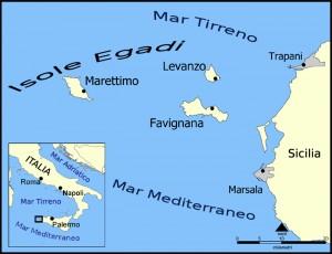 Egadische eilanden Sicilie